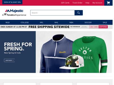 majesticathletic.com