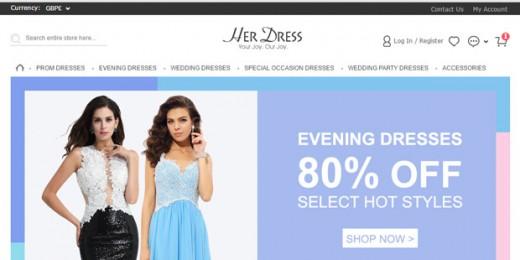 HerDress.co.uk reviews